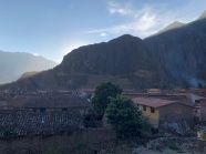 Ollantaytambo sunset