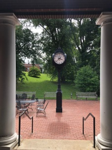 Clock tower on UMW campus