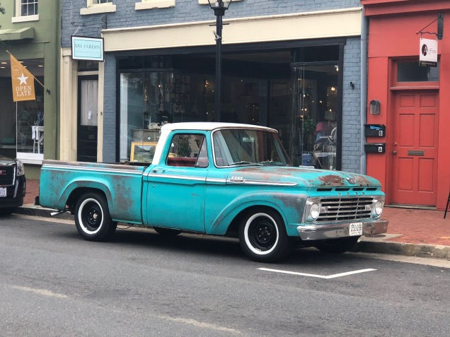 Loved this old truck!