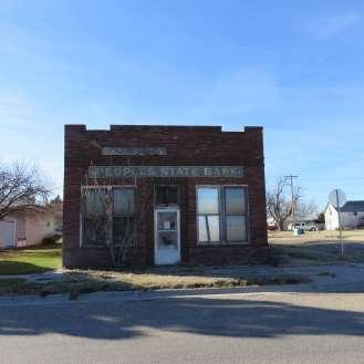 Former bank in Ensign