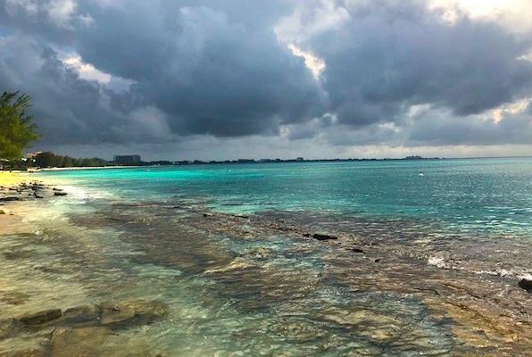 Cemetery Beach Clouds