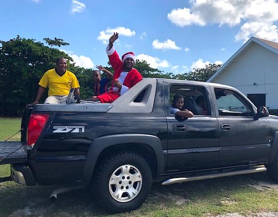 Cayman Santa