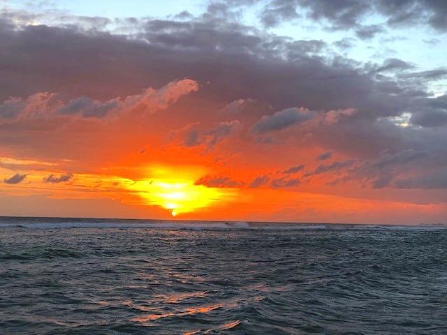 Sports Beach Sunset