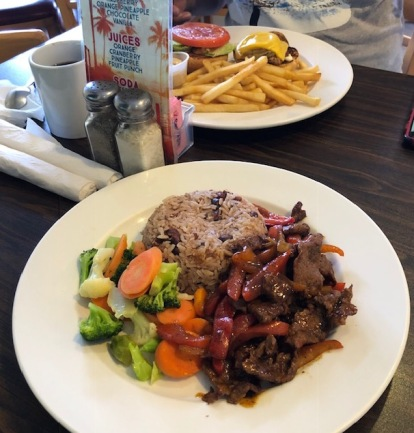 That pepper steak was the bomb!