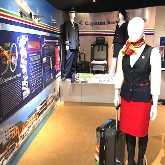 Cayman Airways display