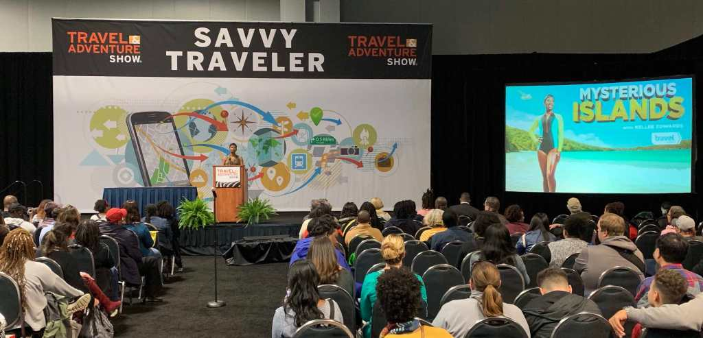 Kellee Edwards talks about safety and adventure when traveling