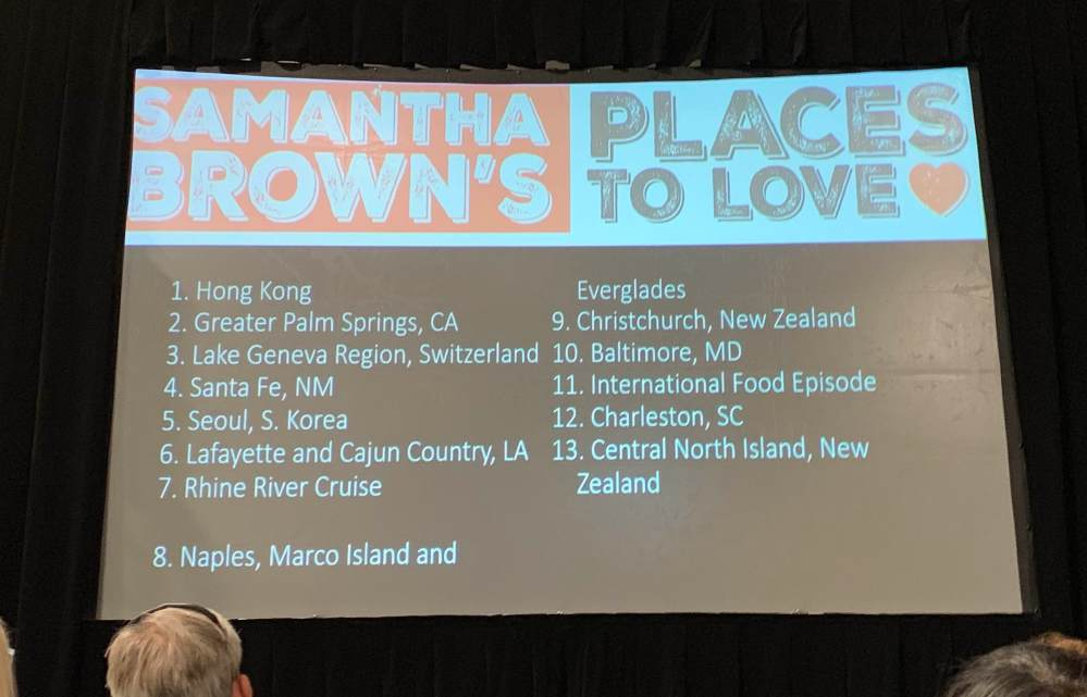 """Samantha Brown's """"Places to Love"""" episodes on PBS"""