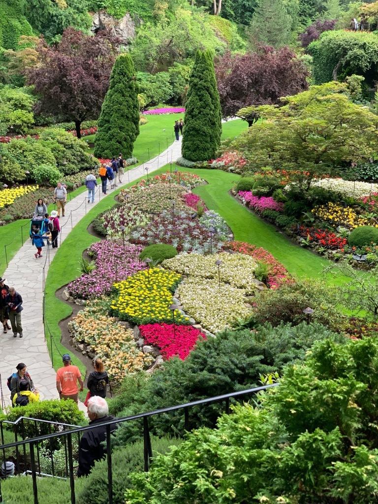 Butchart Gardens near Victoria, British Columbia, Canada